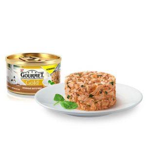 Консерва для кошек Gourmet Gold 59309