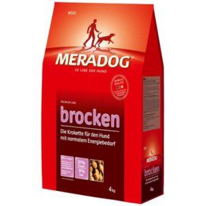 Классический корм для собак Mera Мера Dog Brocken (4 кг)